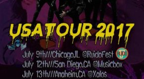VICTIMAS DEL DR CEREBRO US TOUR 2017